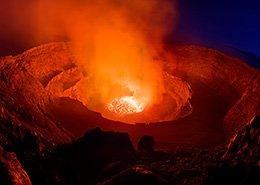 Uitgebarsten vulkaan op Groenland. Berebeeld beeldoptimalisatie voor Werner van Steen Photography.