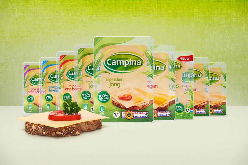 FrieslandCampina commercial-stills. Beeldmanipulatie door Berebeeld digitale beeldbewerking